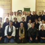 Sesshin at Bucks County Aikido 2013 with Genjo Osho.