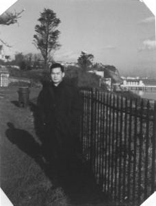 Chiba Sensei in 1967 in Cardiff, Wales.