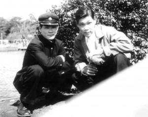 T.K. Chiba and M. Kanai in 1954.