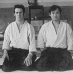 Mick Holloway and Chiba Sensei in England, 1973.