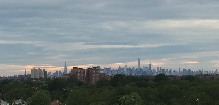 View of New York City from St. John's University