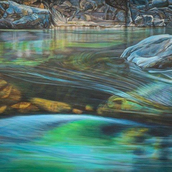 River of Light, by Denise Wey.  denisewey.com