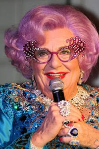 Dame Edna Everage is a character created and performed by Australian comedian Barry Humphries